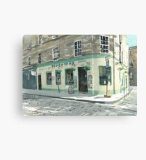 Teuchtars, William Street Canvas Print