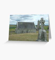 Ancient Ireland, cross Greeting Card