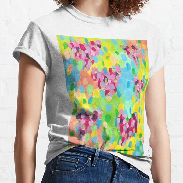 Abstract Candy Love Classic T-Shirt