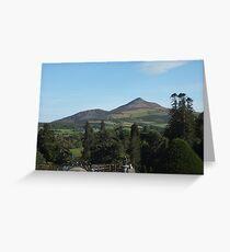 Sugarloaf, Wicklow, Ireland Greeting Card
