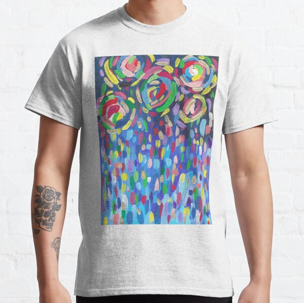 Abstract Candy Firework Classic T-Shirt
