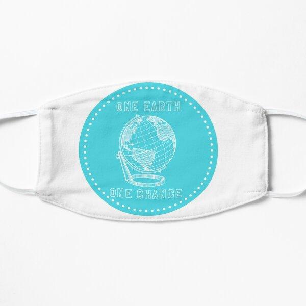 Eine Erde Eine Chance Flache Maske
