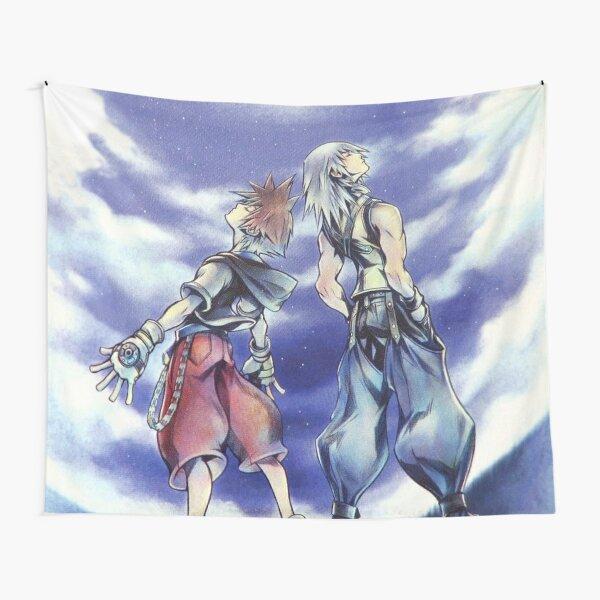 Kingdom Hearts CoM - Artwork Tapestry