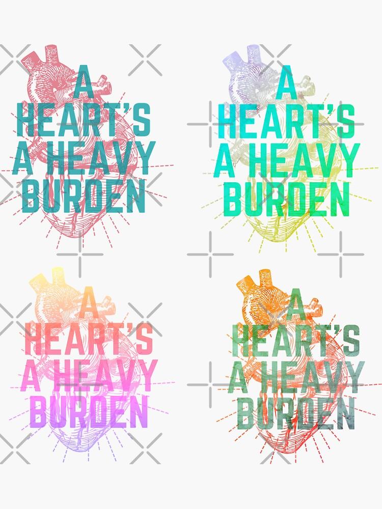 Un corazón es una carga pesada. de Averageconsumer