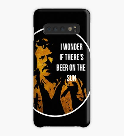 Zap Rowsdower - BEER QUOTE Case/Skin for Samsung Galaxy