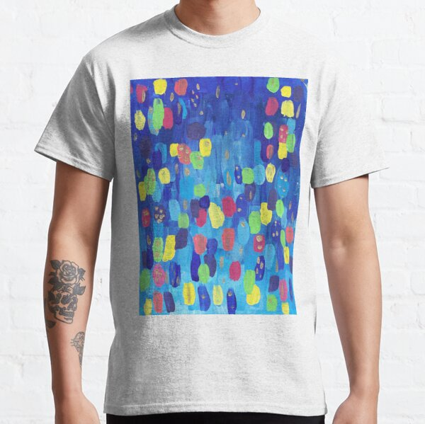 Abstract Candy Lights Classic T-Shirt