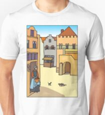 Medieval Town 2 Unisex T-Shirt