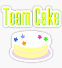 Team Cake Sticker