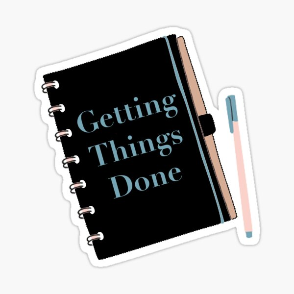 Getting Things Done Sticker