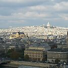 Sacre Coeur from the top of Notre Dame by TigerOPC
