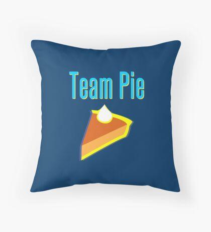 Team Pie Throw Pillow