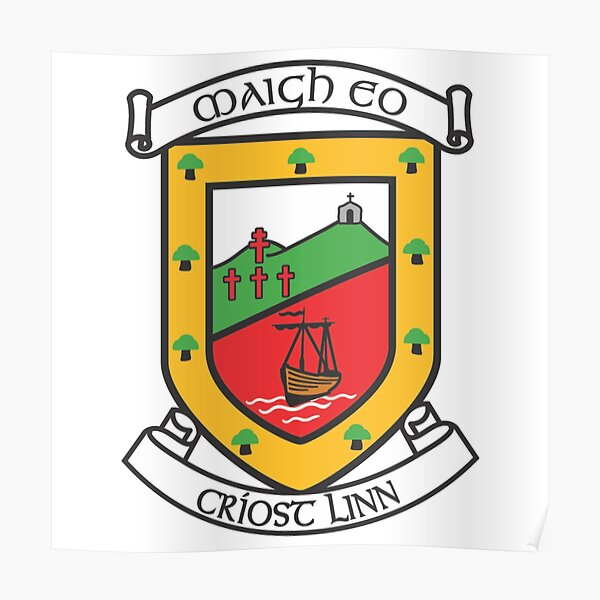 Mayo GAA crest  Poster