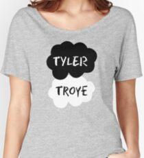 TYLER & TROYE (Tyler Oakley & Troye) - TFIOS Design Women's Relaxed Fit T-Shirt
