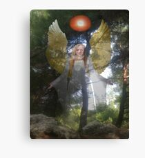 Nature's Angel Canvas Print