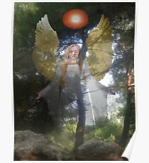 Nature's Angel Poster