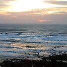 Sunset over Little Furzenip by Paul  Green