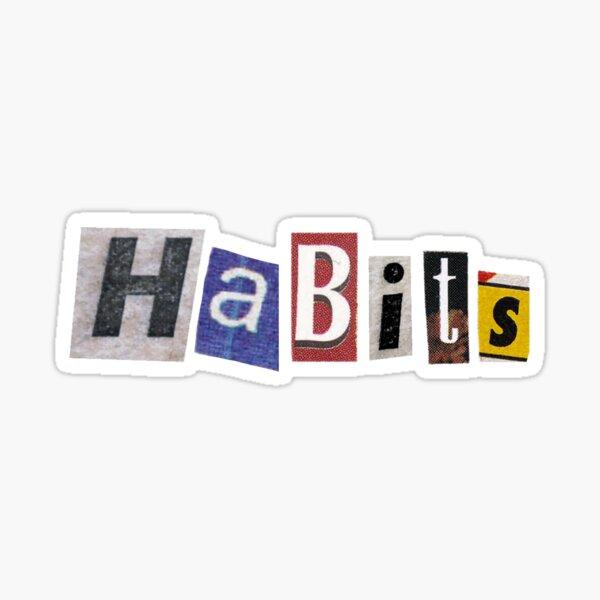 Pegatina de hábitos ❤️ Pegatina