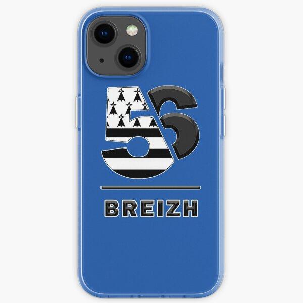 Bretagne Morbihan 56 Breizh Coque souple iPhone