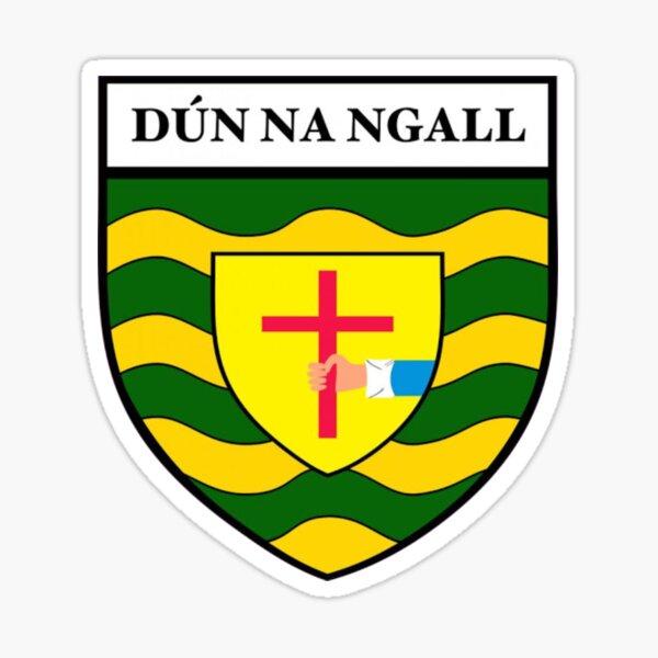 Donegal County Crest GAA Sticker