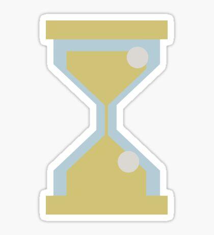 Sand clock Sticker