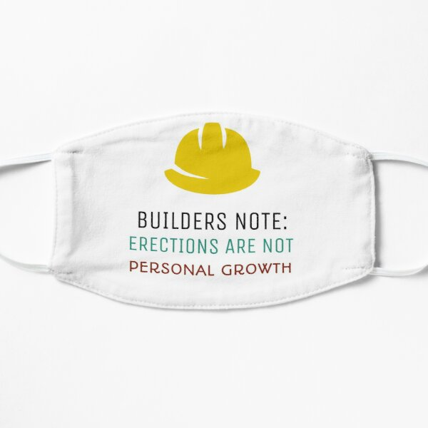 Builder T-shirt Flat Mask