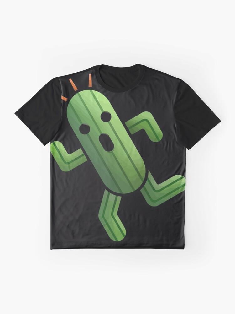 Vista alternativa de Camiseta gráfica Cactuar