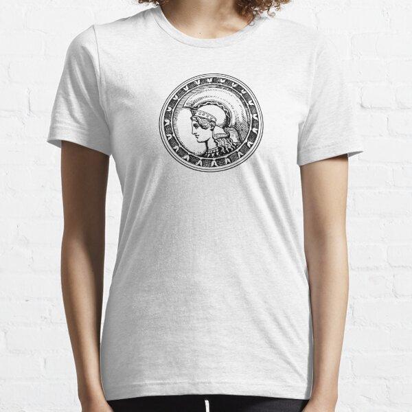 Athena/Minerva - black Essential T-Shirt