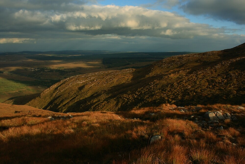The Way Down From Croaghconnellagh by Adrian McGlynn