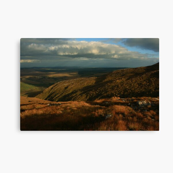 The Way Down From Croaghconnellagh Canvas Print