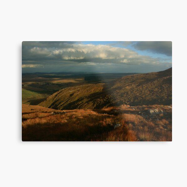 The Way Down From Croaghconnellagh Metal Print