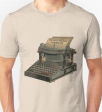 Antique Typewriter Unisex T-Shirt
