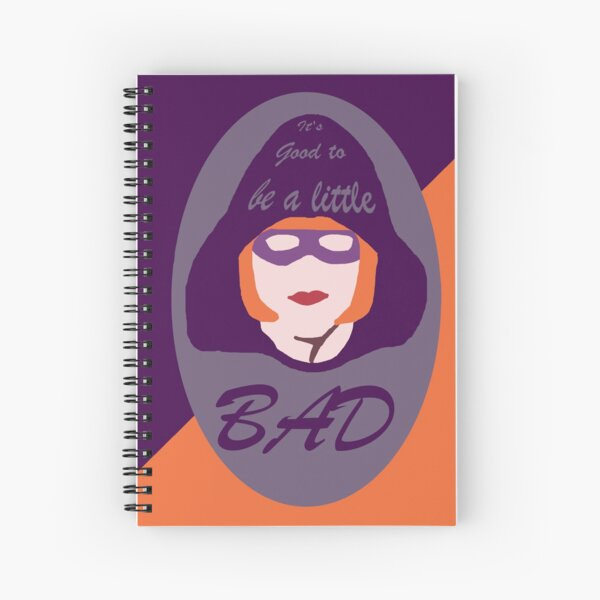 Vlog Villain It's Good to be a Little Bad - Color Pop Spiral Notebook