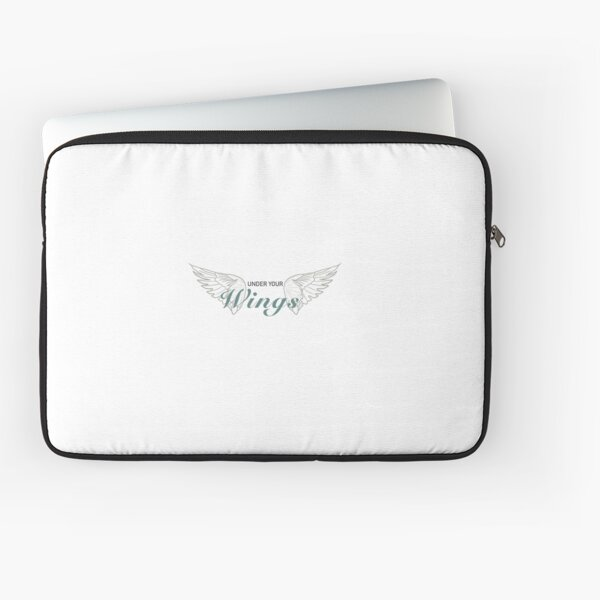 Under Your Wings  Laptop Sleeve