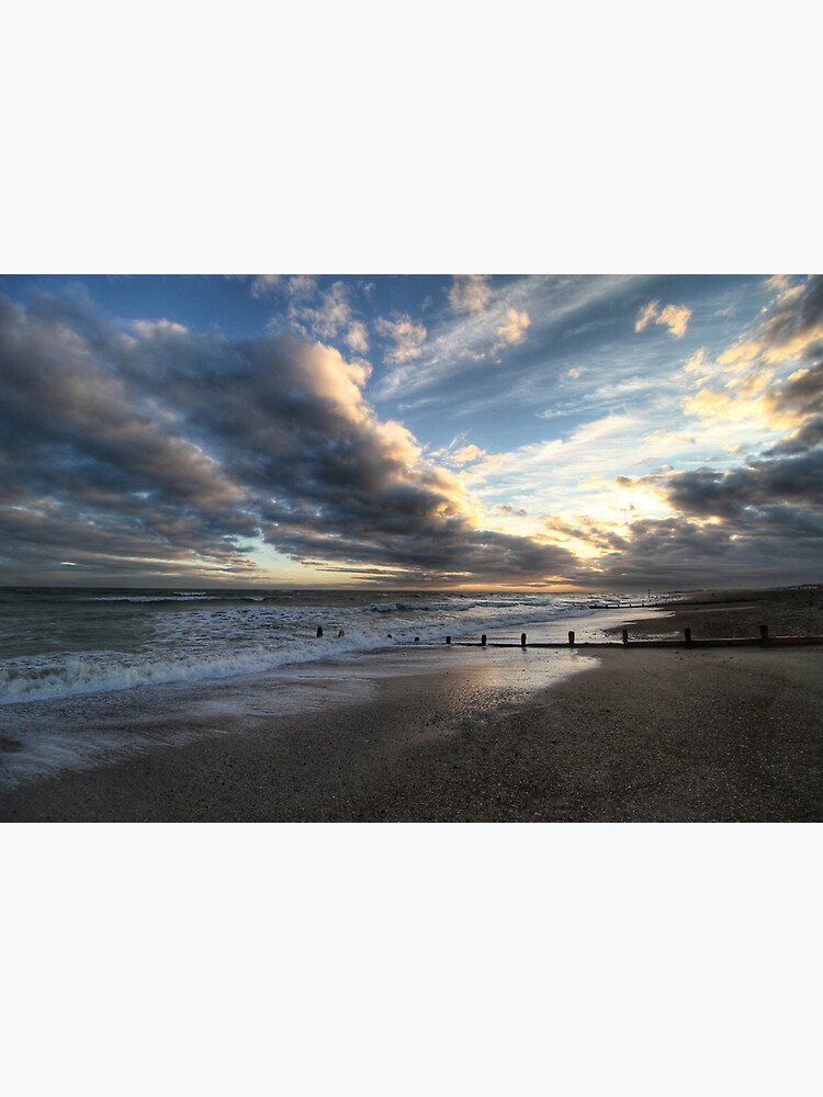 Low-Tide Evening Seascape by hoxtonboy