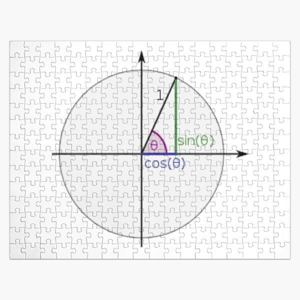 #Sine, #Cosine, #Triangle, #Geometry, Trigonometry, Math Formulas, Angles, Sides Jigsaw Puzzle