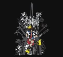 Kingdom Hearts: Game of Hearts Color | Unisex T-Shirt
