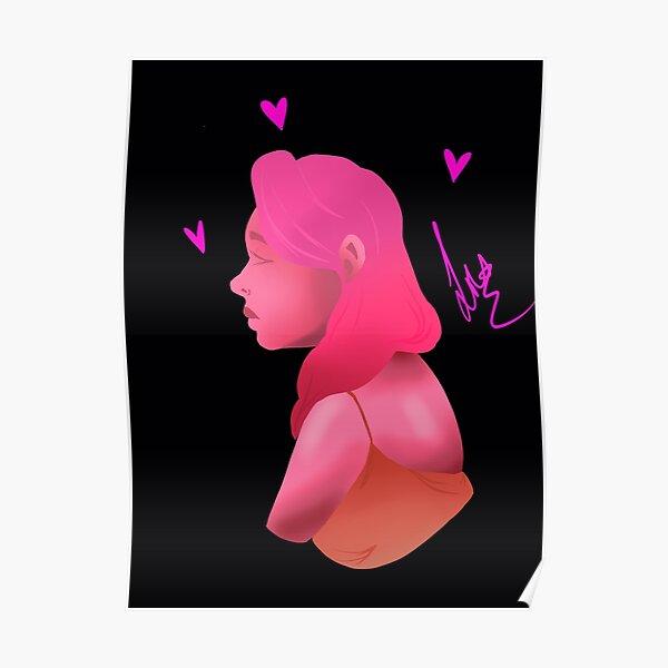 Monochrome Lady Poster