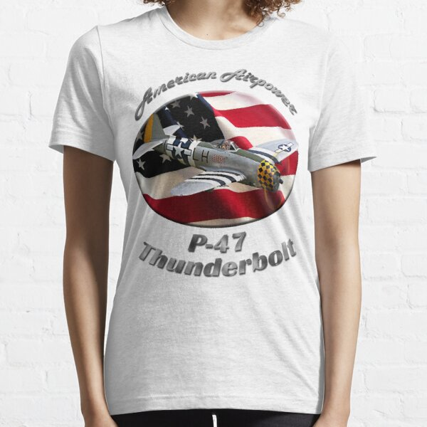P-47 Thunderbolt American Airpower Essential T-Shirt