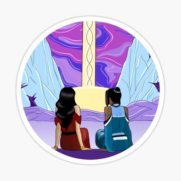 Korrasami Spirit Portal Sticker