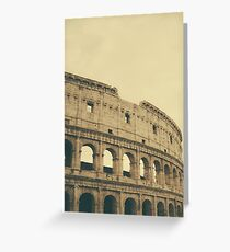 Coliseum Greeting Card