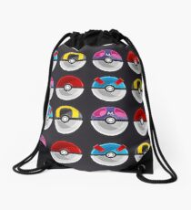 Pokemon Poké Balls Drawstring Bag