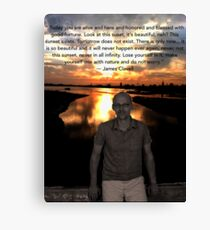 James Clavell Canvas Print