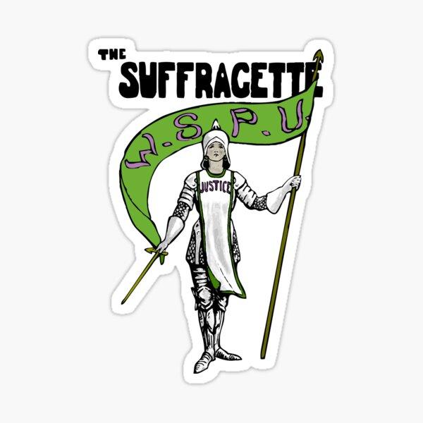 W.S.P.U. - The Suffragette Sticker