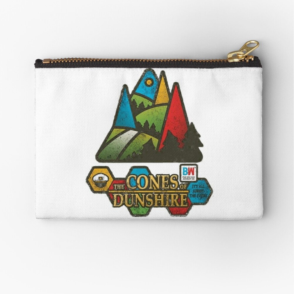 The Cones of Dunshire  Zipper Pouch