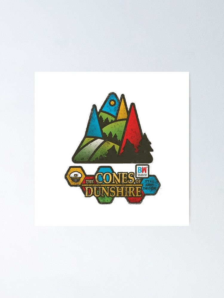 Alternate view of The Cones of Dunshire  Poster