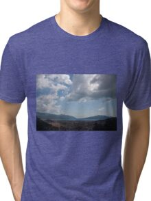 Sunshine, Clouds and Shadows Over The Bay Of Marmaris Tri-blend T-Shirt