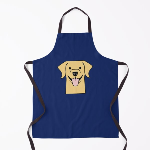 Yellow Lab sticker, Yellow Labrador gifts, Labs - Golden Lab - Labrador Retriever Apron
