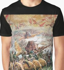 Fantasy Battle Graphic T-Shirt