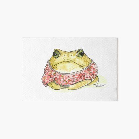 Cranberry Toad Art Board Print