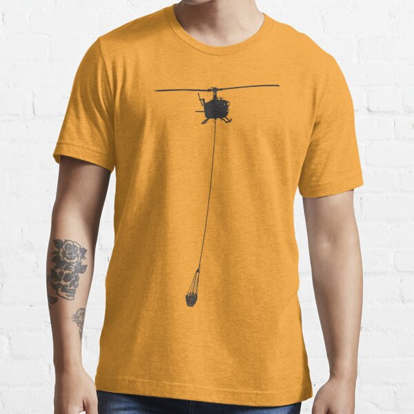 Bell 205 Huey with Water Bucket Essential T-Shirt